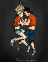Percabeth by LilyScribbles