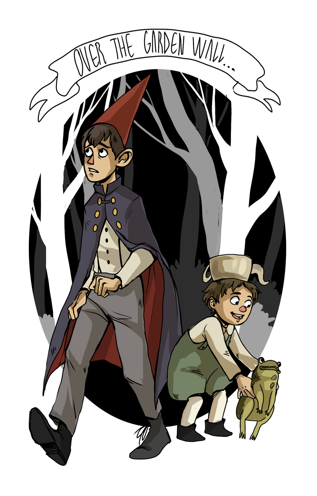 Over The Garden Wall By Lilyscribbles On Deviantart