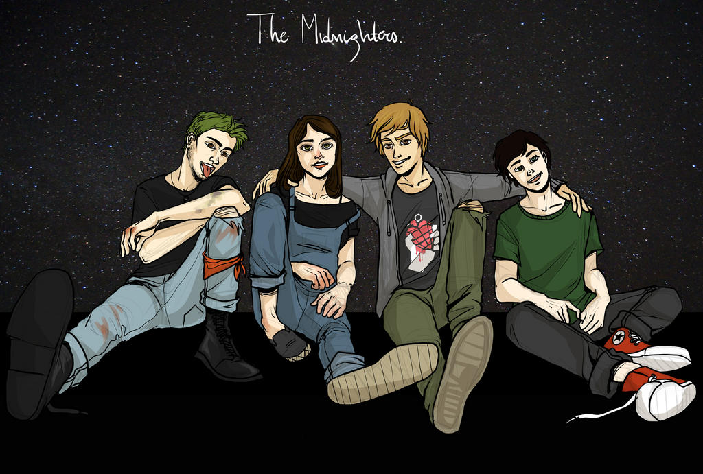 The Midnighters by LilyScribbles