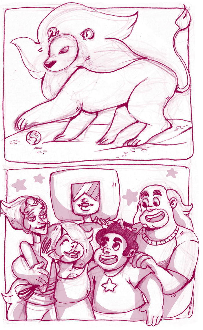 Steven Universe sketchbook by LilyScribbles