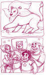 Steven Universe sketchbook