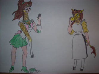 Kasumi and Jupiter Giraffes Tf