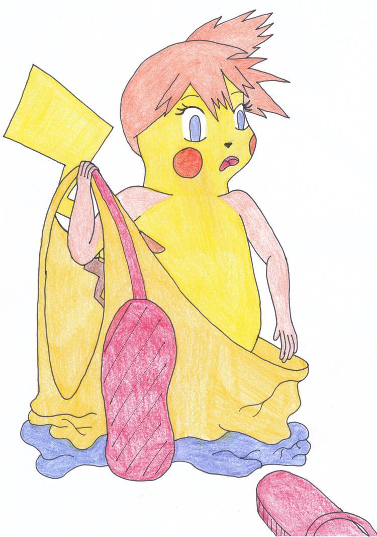 Misty Pikachu Tf by EduartBoudewijn