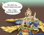 Commission: Babysitting NPC's part 3