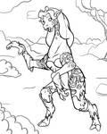 Sketch: Poison Ivy Giraffe TF by EduartBoudewijn