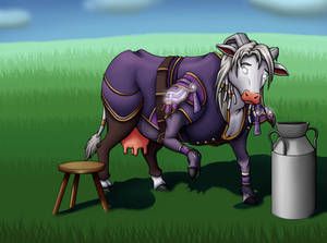 Commission: World of Milkcraft