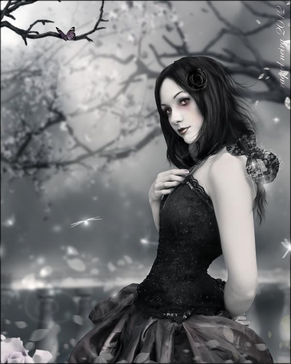 Enchanted night by KellieArt