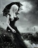 Bury me deep inside your heart by KellieArt