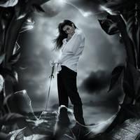 A dark soul by KellieArt