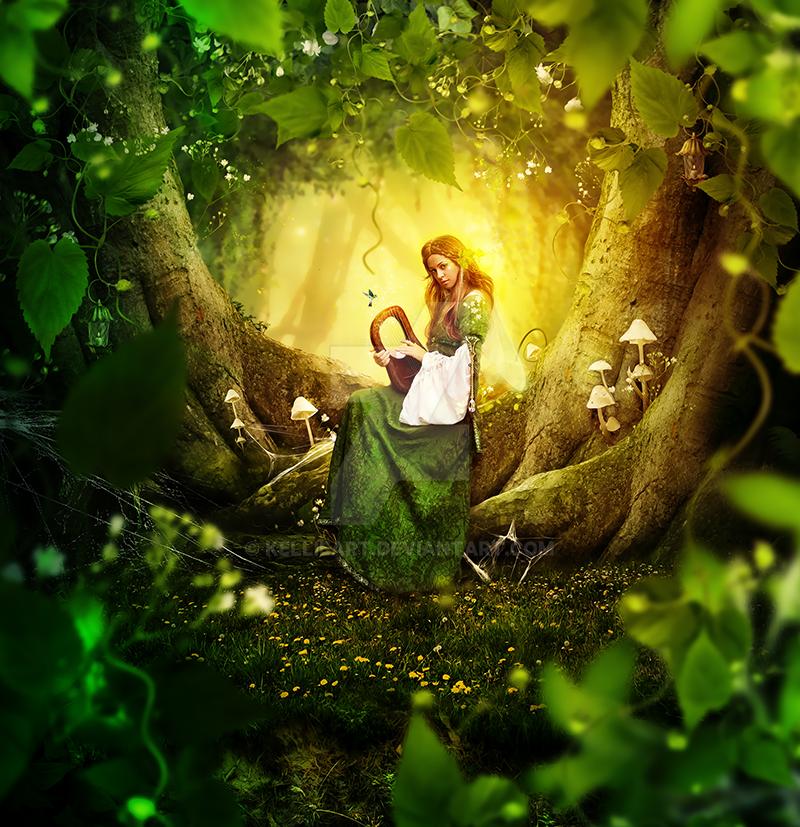 Green fairy by KellieArt