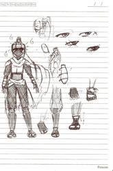 Ninja Outfit by Blit-kun