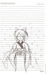 Nara - Priestess by Blit-kun