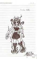Lorelaine Wallace - Vampire by Blit-kun