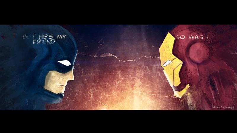 Captain America Civil War by techngame