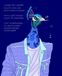 Warm Up - Indigo by Cians-Sacred-Lair