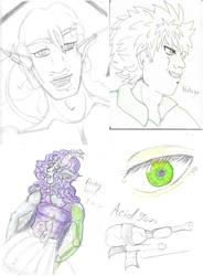 Sketch Dump by Cians-Sacred-Lair