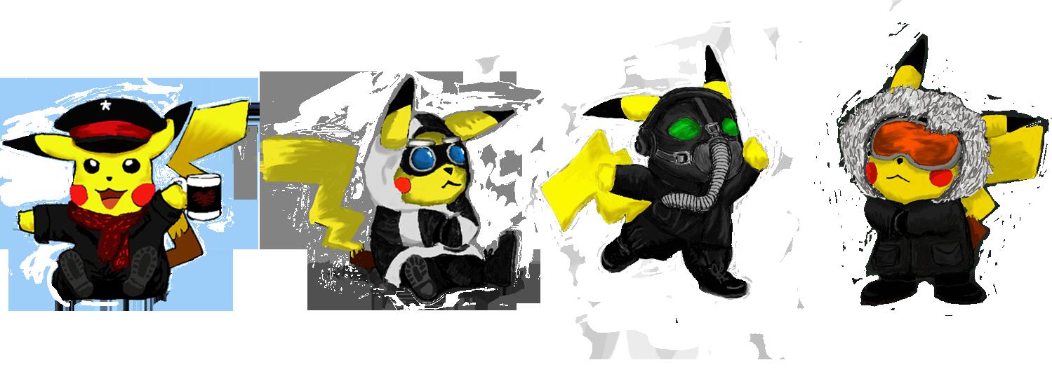 Pikachu RA Style! by LolliOzdust