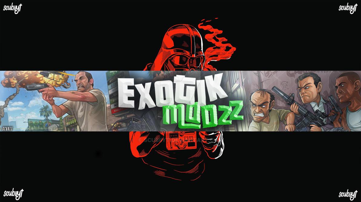Banner Para Exotick Modz by ScubiiYT