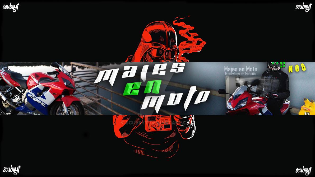 Banner para Majes en Moto by ScubiiYT