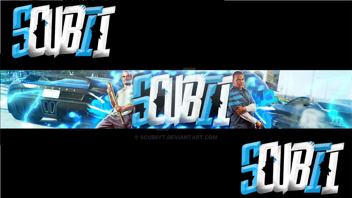 Banner Gta5 by ScubiiYT