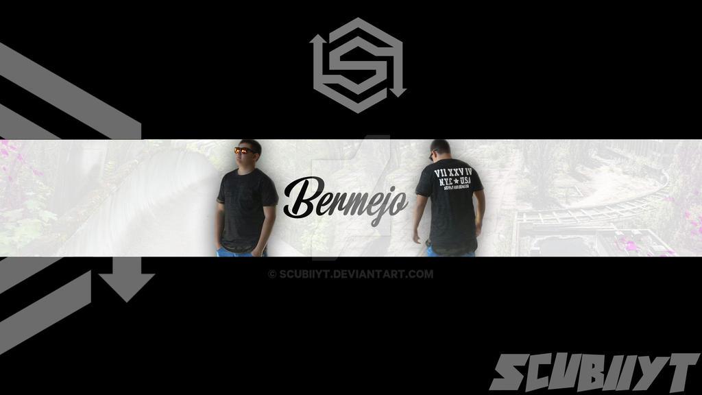 Banner para mi canal Bermejo by ScubiiYT