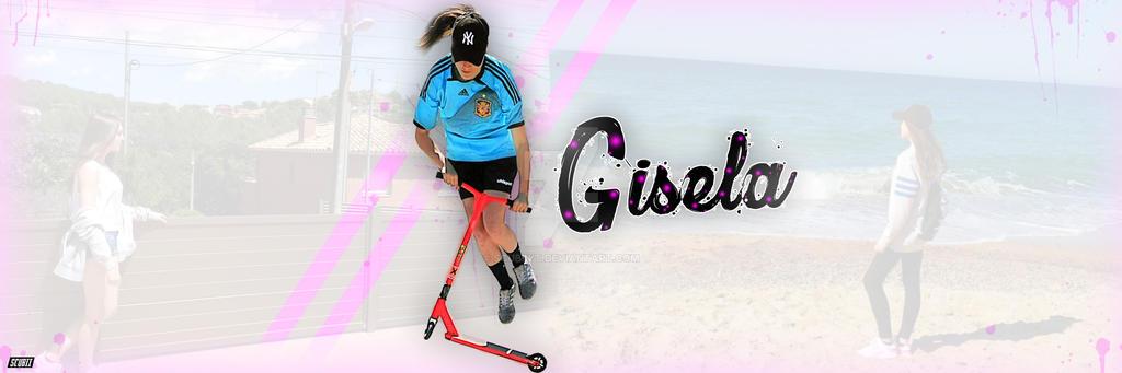 heade Gisela twitter by ScubiiYT