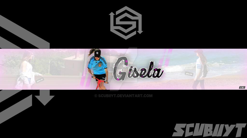 Banner Yt Gisela by ScubiiYT