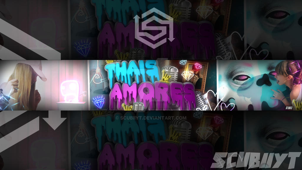 Banner para Thais Amores by ScubiiYT