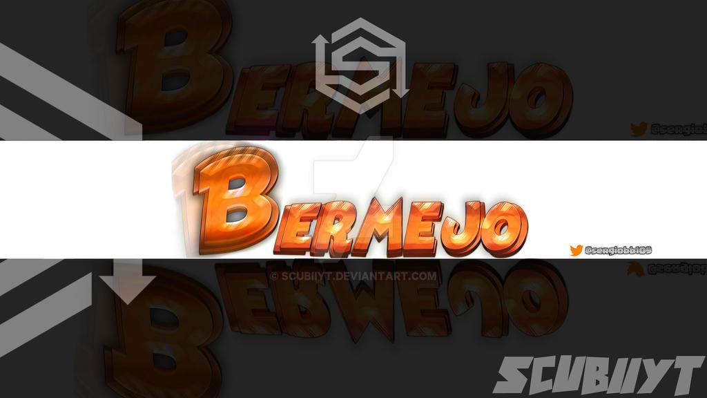 banner con logo B by ScubiiYT