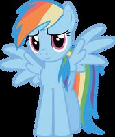 Rainbow Dash by vectorvector