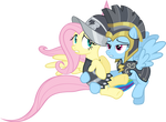Commander Hurricane and Private Pansy