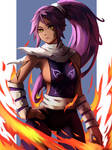 Commission (Yoruichi) by Neil03