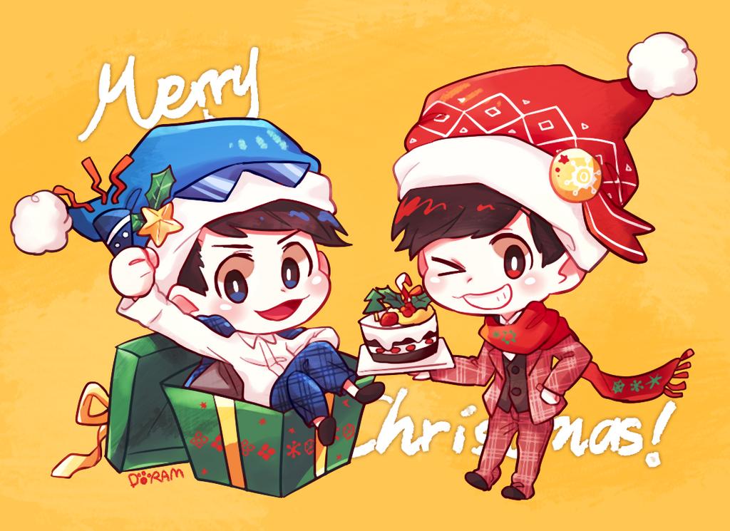 Osomatsu-san Christmas 12 by DORAMDAROM on DeviantArt