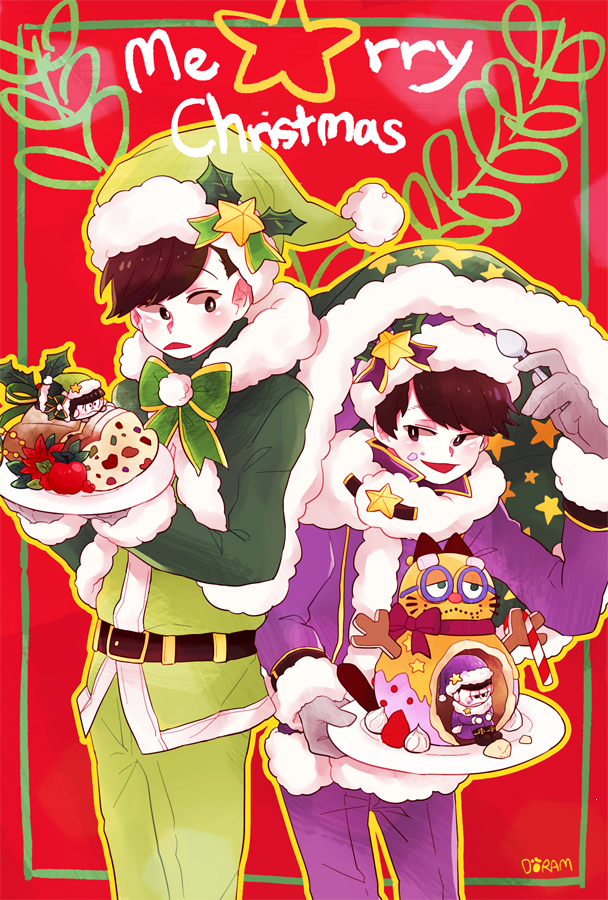 Osomatsu-san Christmas 34 by DORAMDAROM on DeviantArt