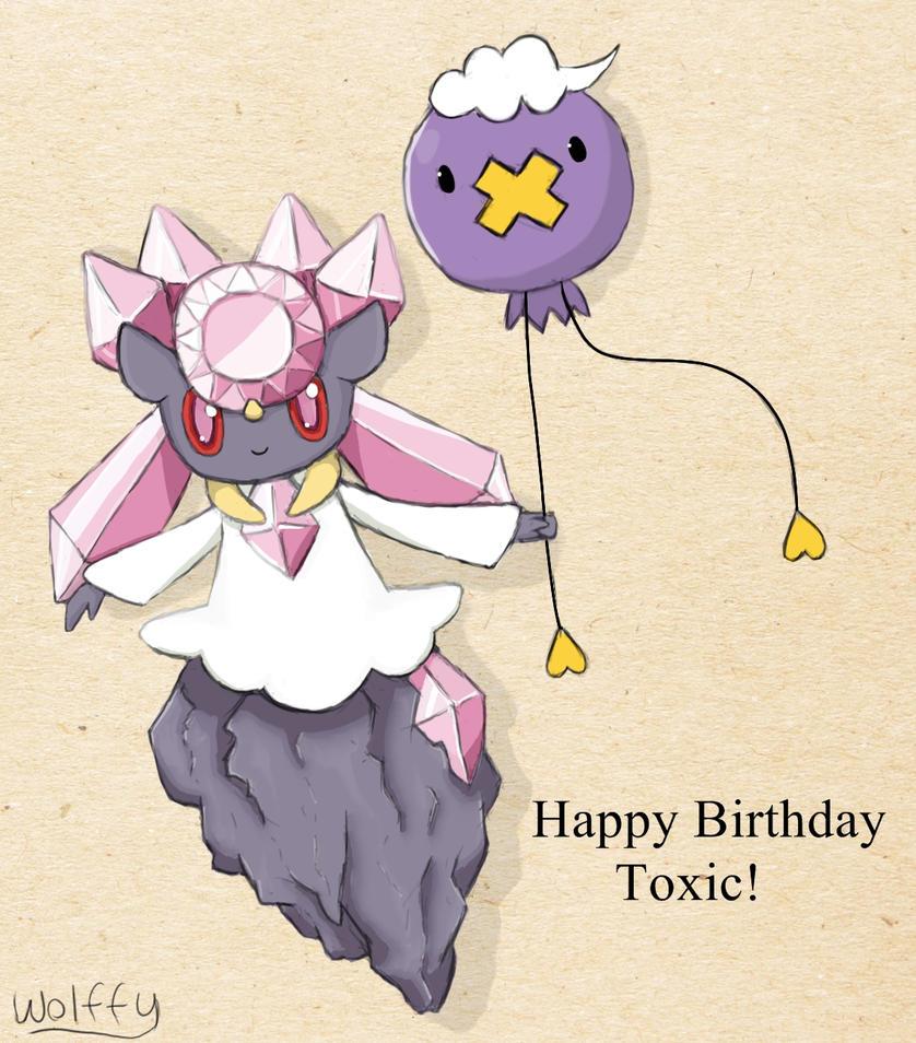 happy birthday tox by wolffey