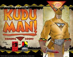 KUDU MAN webpage design by SURFACEART