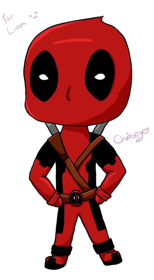 Chibi Deadpool Drawing...