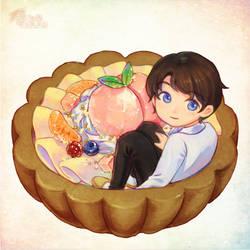 [Commission] Peach Tart