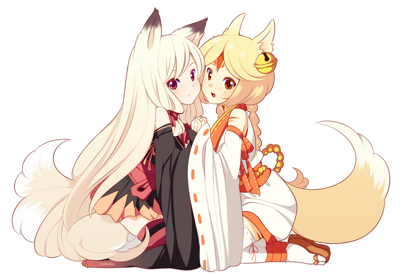 kitsune_pair_by_poffinbox-d69pb47