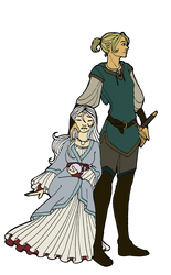 The Seer and the Doppelganger by roundtressym