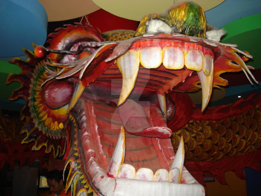 Kepala Ular Naga by tikapinkhana