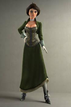 Mute 'Gibson Girl' Elizabeth (New Model) by Ananina23