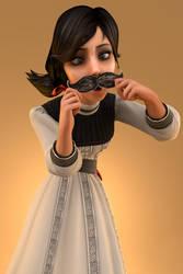 Lil' Miss Mustachio