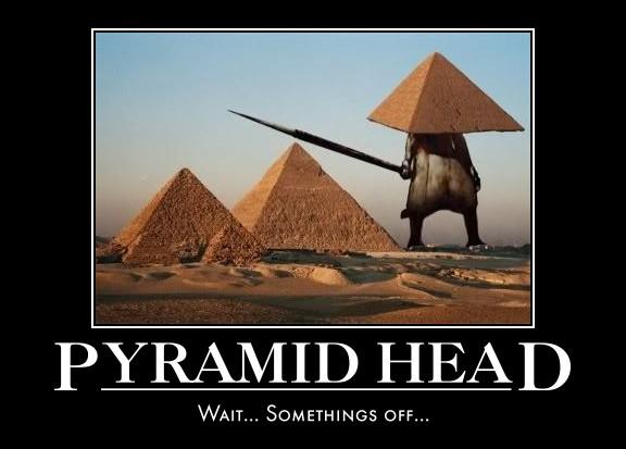 Pyramid Head? by Broken-doll-smiles