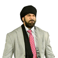 Jinder Mahal 2017 Render by CHPhenom15