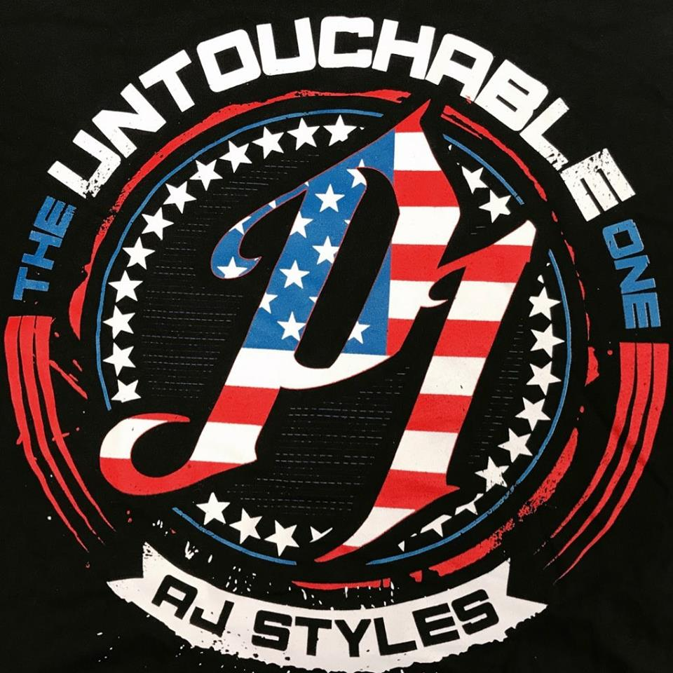 AJ Styles Logo US By CHPhenom15 On DeviantArt