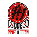 AJ The One That Gets It Done logo png
