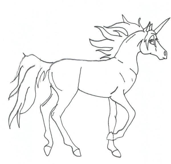 Mythical Creature 3 Unicorn By CommissionRUs44 On DeviantArt