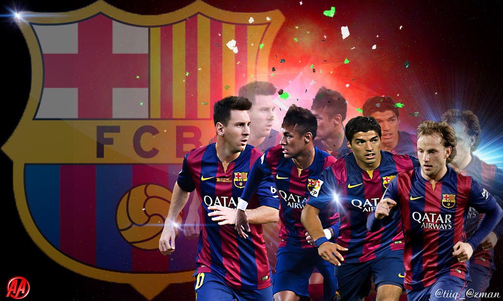 fc barcelona wallpaper by reyssi on deviantart