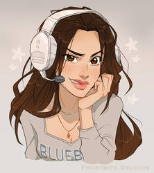 Gamer Chic - Commission